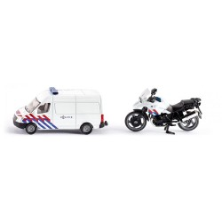 Moto et Camion Police Siku 1:87 jouettoys