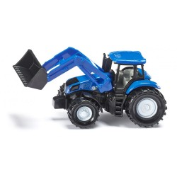 Tracteur New Holland avec chargeur frontal Siku