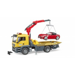 Camion MAN TGS avec Roadster Bruder 1:16