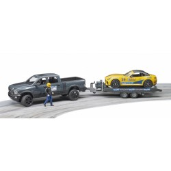 Jeep RAM 2500 Power Wagon avec Roadster Racing Team et figurine