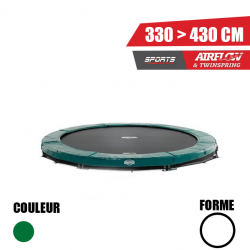 Trampoline Elite InGround vert Berg jouet toys