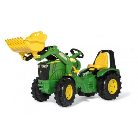 Tracteur Rolly X-trac premium John Deere 8400 R avec chargeur ROLLY TOYS