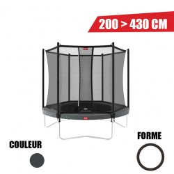 Trampoline Favorit + Filet de sécurité Comfort Berg