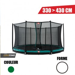 Trampoline Inground Favorit + Filet de sécurité Comfort Berg jouet toys