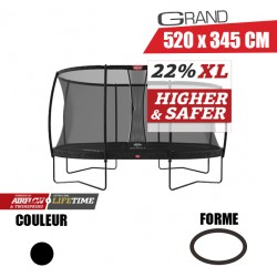 Trampoline Grand Champion Regular + Filet de sécurité DLX XL Berg jouet toys