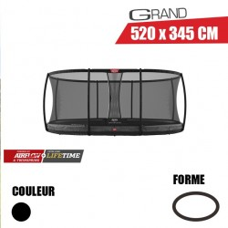 Trampoline InGround Grand Champion 520 + Filet de sécurité Deluxe Berg jouet toys