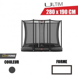 Trampoline ultim favorit Inground + Filet de sécurité comfort Berg jouet toys