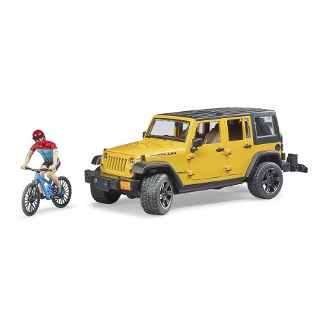 Jeep Wrangler BRUDER 02543 Unlimited Rubicon jouet toys