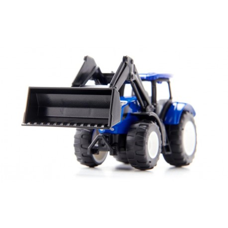 Tracteur New Holland avec chargeur frontal 1:87 siku 1396