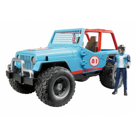 BRUDER - 02541 - Jeep Cross Country Racer Jouettoys