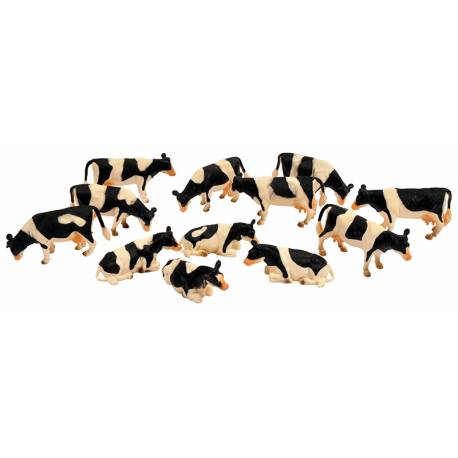 12 Vaches KIDSGLOBE 571929 1:32 jouettoys