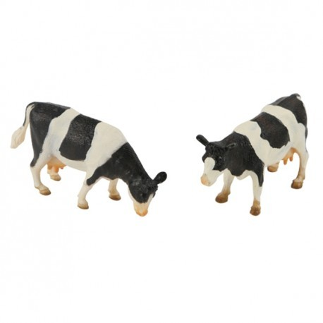 2 Vaches (2) KIDSGLOBE 571873 1:32 jouettoys