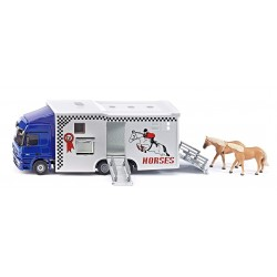Camion transport chevaux 1:50
