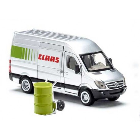 Mercedes Sprinter Claas Service Siku 1:50 Jouettoys