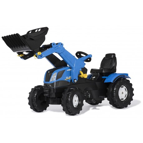 rollyFarmtrac New Holland ROLLY TOYS avec chargeur jouettoys