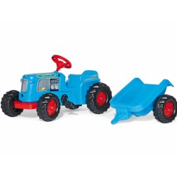 rollyKiddy Classic Trac + remorque 620012 ROLLY TOYS jouettoys