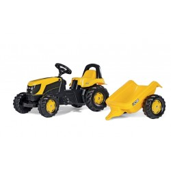 RollyKid JCB avec remorque ROLLY TOYS 012619 jouettoys