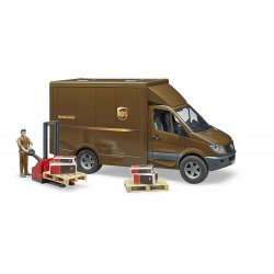 camion mb sprinter ups bruder 025380 1:16 jouettoys