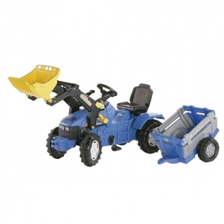 tracteur à pédales New Holland TM175 ROLLY TOYS jouet toys