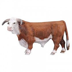 taureau Hereford collecta 88234 jouet toys