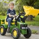 tracteur à pédales rolly toys pas chers