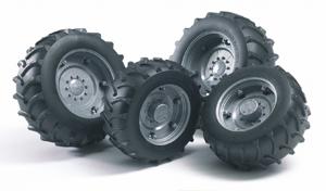 roues jumelées bruder