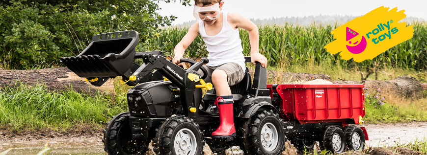 Nouveautés rolly toys 2021 - tracteurs à pédales Jouet Toys