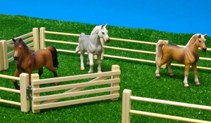 barriere chevaux kids globe