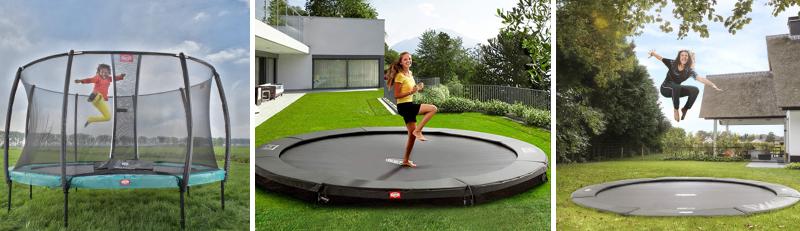choix trampoline berg