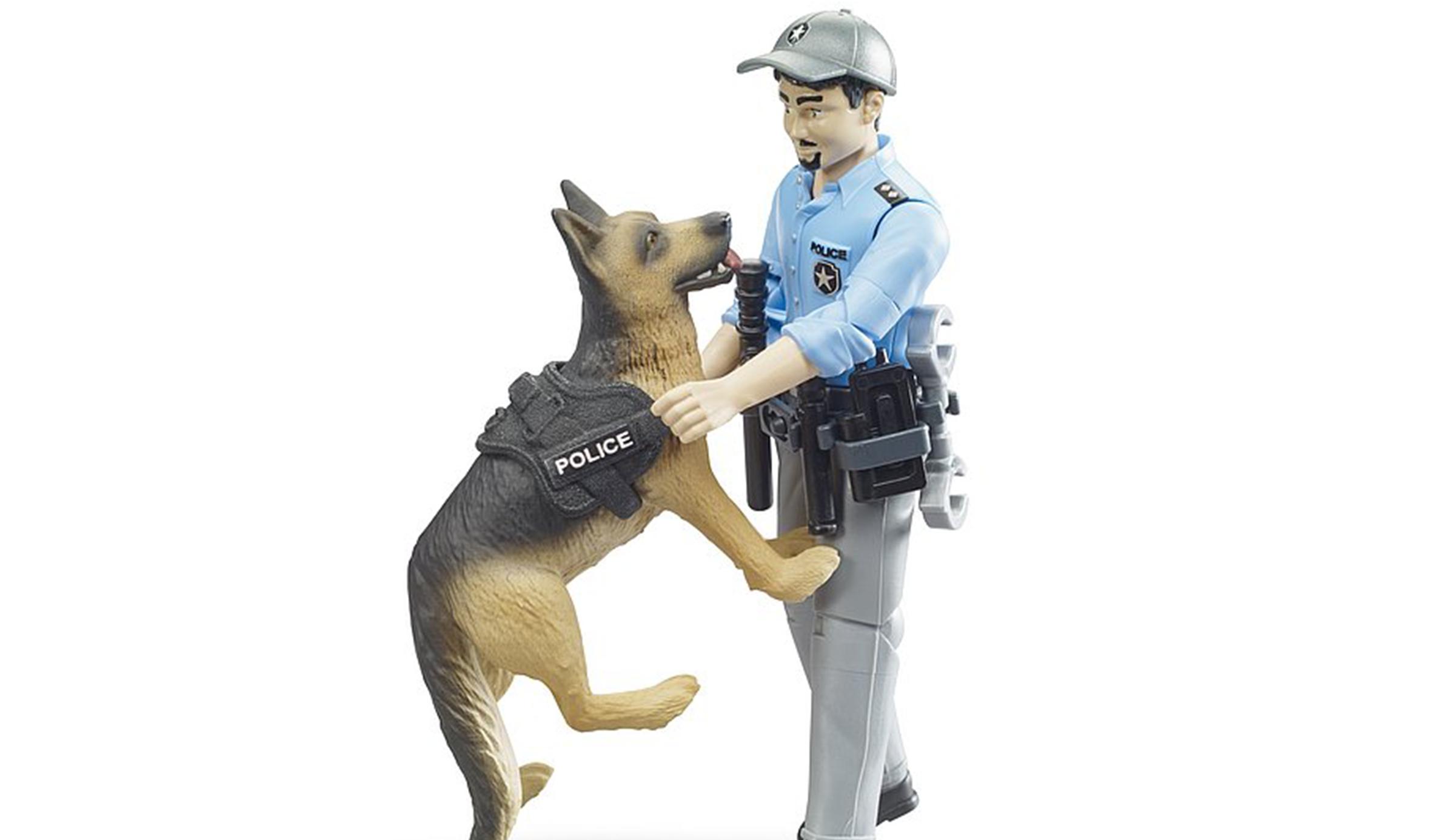 Policier et chien Bworld bruder
