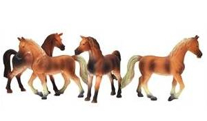 chevaux jouet miniature
