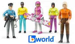 figurine bworld femme