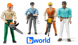 figurines bworld bruder