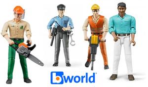 figurines bworld bruder