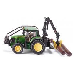 tracteur forestier siku