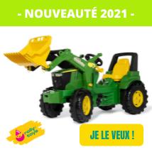 Nouveautés tracteurs à pédales Rolly Toys - John Deere 7310R