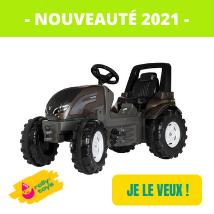 Nouveautes 2021 Rolly Toys - tracteur à pédales Valtra