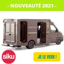 Nouveautés 2021 siku 1920 Camion de livraison ups