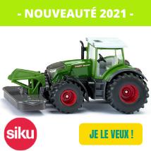 Nouveautés 2021 siku 2000 Fendt Vario 942 avec fauchseuse