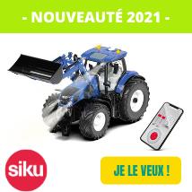 Nouveaute 2021 : Siku 6797- tracteur téléguidé New Holland t 7315