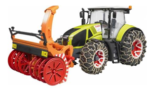 tracteur chasse neige bruder