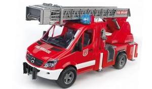 voiture pompier bruder