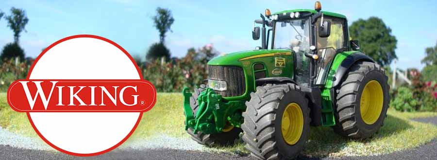 wiking tracteur collection jouettoys